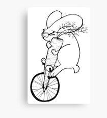 Jay the Bunny Canvas Print