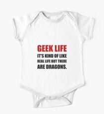 Geek Life Dragons One Piece - Short Sleeve