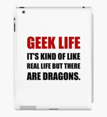 Geek Life Dragons iPad Case/Skin