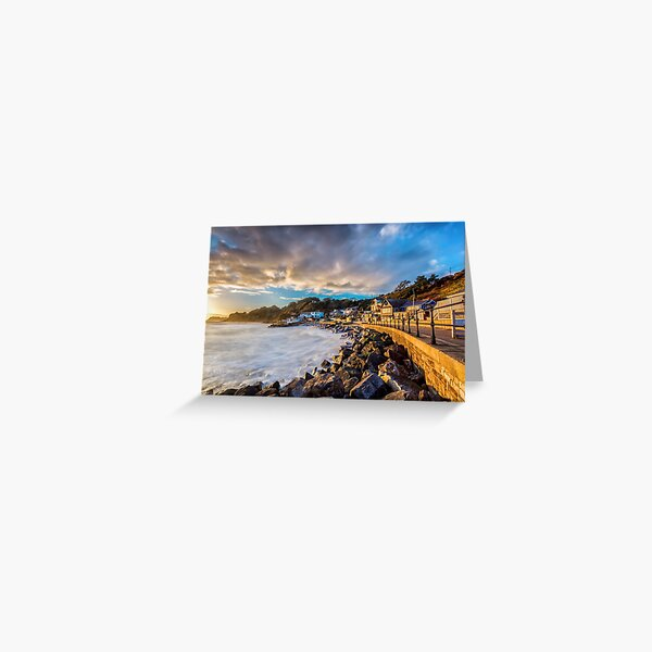 Steephill Cove Gold 2 Greeting Card