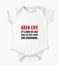 Geek Life Unicorns Kids Clothes