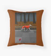 Autumn Bimble Throw Pillow