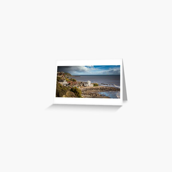 Steephill Cove Isle Of Wight Greeting Card