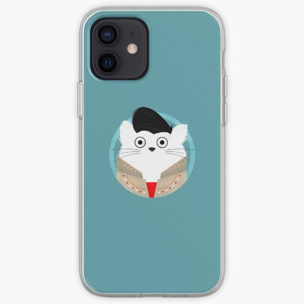 Cat Elvis  iPhone Soft Case