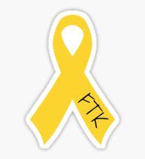 FTK Ribbon Sticker