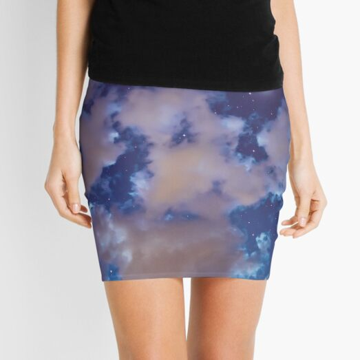 for there is alway light Mini Skirt