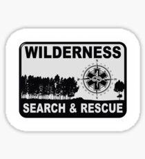 Wilderness Search & Rescue Sticker