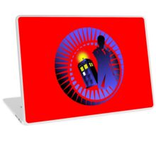 12TH IN THE TIME VORTEX  Laptop Skin