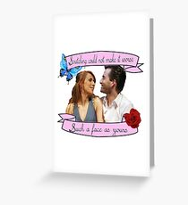 Beatrice and Benedick- True Love Greeting Card