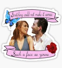 Beatrice and Benedick- True Love Sticker