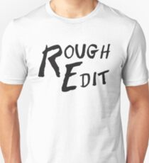 Rough Edit Main Logo Unisex T-Shirt