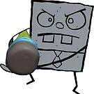 Doodlebob - Spongebob von LagginPotato64