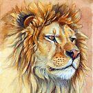 Lion portrait 851 by schukinart