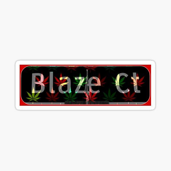 Blaze Court Sticker