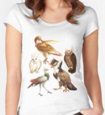 PokéBirds of Prey I Women's Fitted Scoop T-Shirt