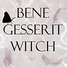 Bene Gesserit Witch P by JuniperMe