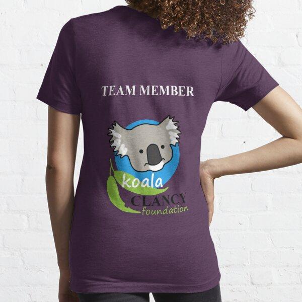 Koala Clancy Foundation Team Member Essential T-Shirt