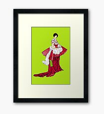 Dress Framed Print
