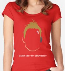 Axton the Commando Women's Fitted Scoop T-Shirt