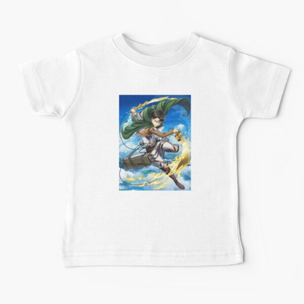 Attack on Titan Flying Battle Baby T-Shirt