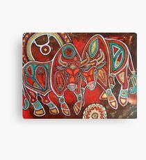 Two Bulls  Canvas Print
