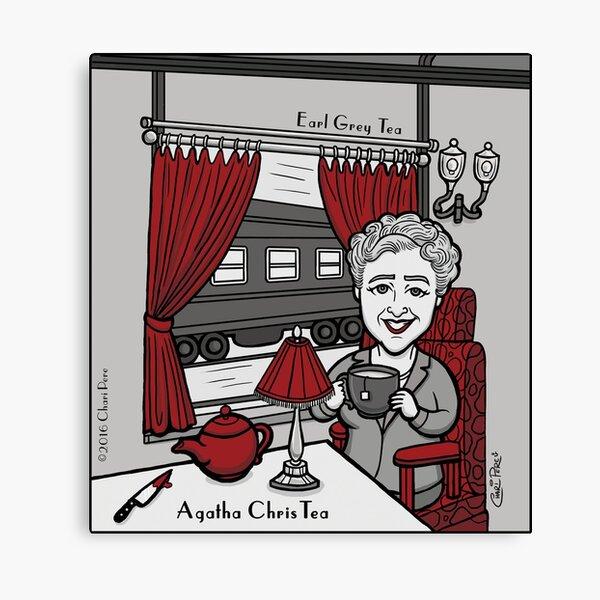 Agatha ChrisTea Lienzo