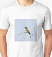 Red-throated Bee-eater with bill open T-Shirt