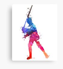 LUKE SKYWALKER STAR WARS WATERCOLOR Canvas Print