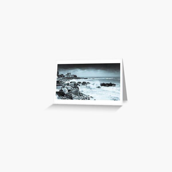 In The Eye Of The Storm Greeting Card