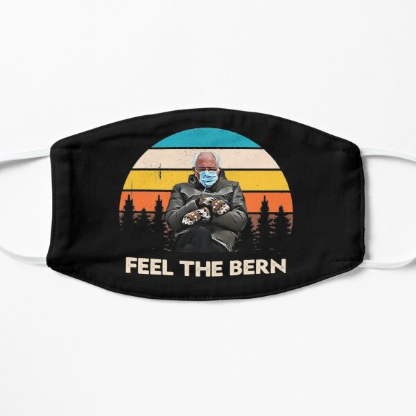 Bernie Sanders With Mittens Inauguration 2021   Mask
