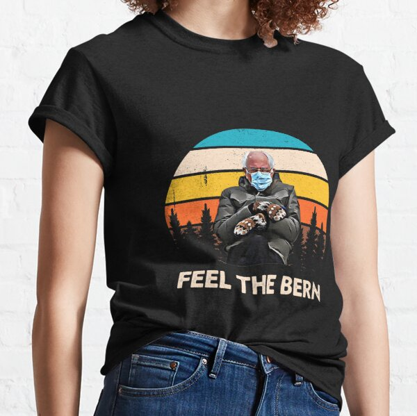 Bernie Sanders With Mittens Inauguration 2021   Classic T-Shirt