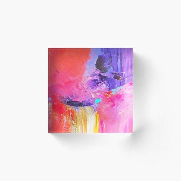 Le don d Iris Bloc acrylique