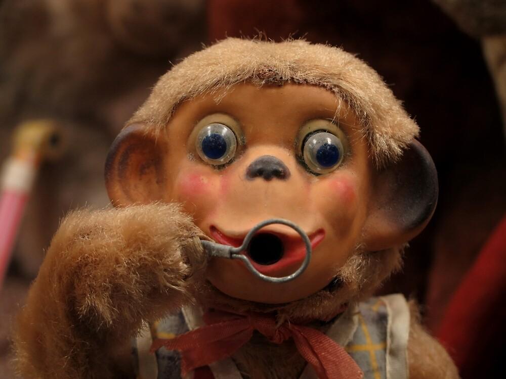 Dusty Old Monkey Doll by JohnArehart