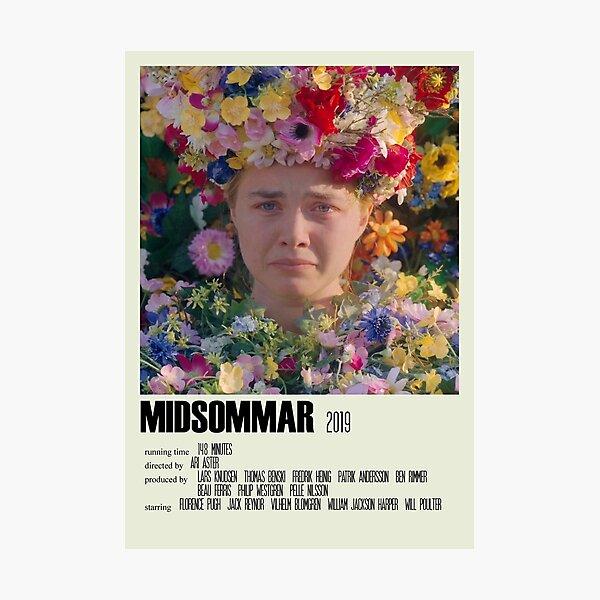 Midsommar Alternative Poster Art Movie Large (2) Photographic Print
