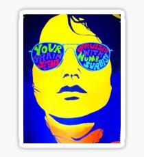 """""""Soul Kitchen"""" Jim Morrison Stickers Sticker"""