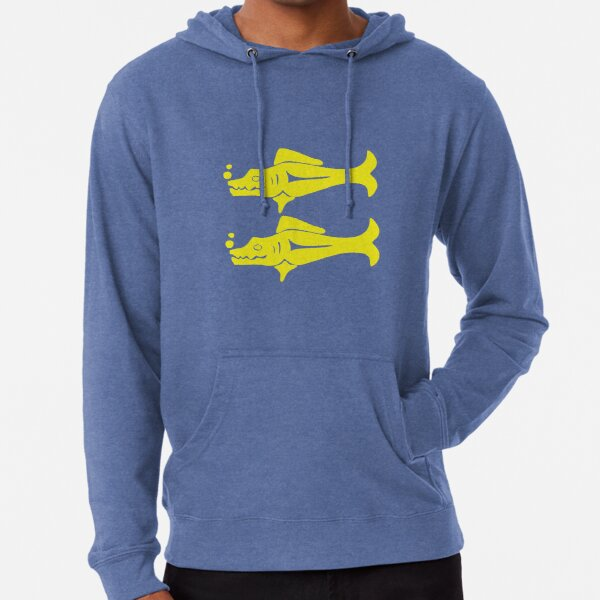 Blue Barracudas Lightweight Hoodie