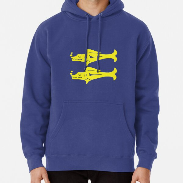 Blue Barracudas Pullover Hoodie