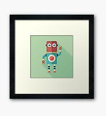 Robot Tailor Framed Print