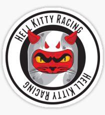 HKR - black on white Sticker