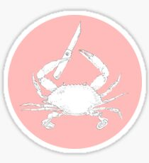 Knife Crab Sticker