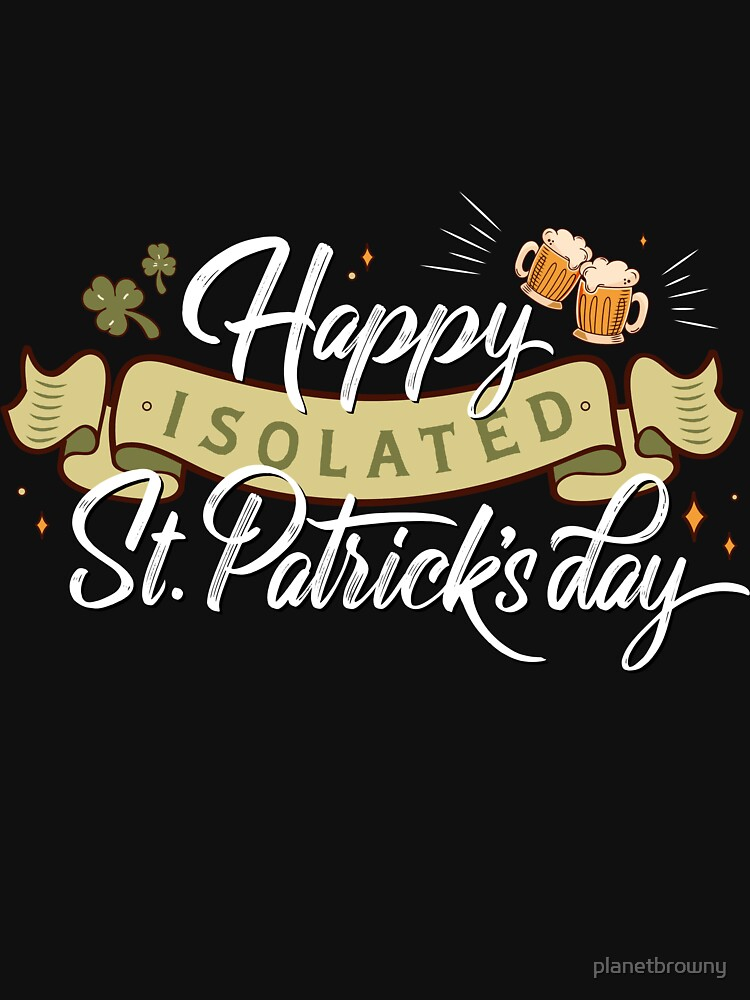 Happy isolated St. Patrick's day von planetbrowny