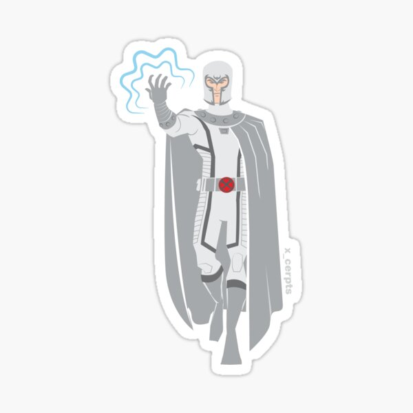 Magnus Royal White Sticker