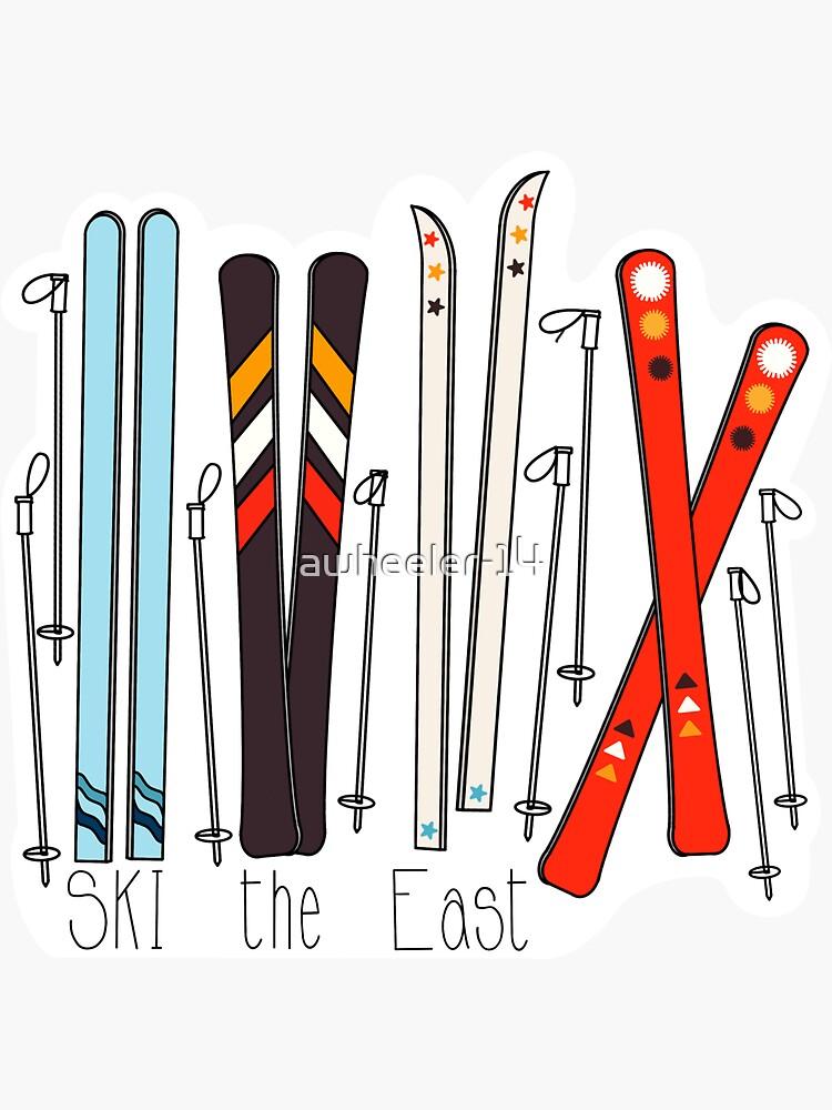 "Stratton Mountain Sticker Decal 5.5/"" Ski Snowboard Vermont Resort Ski The East"