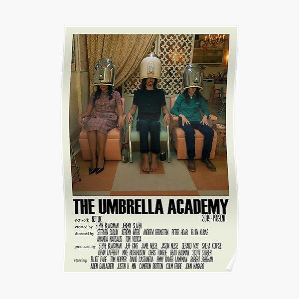 The Umbrella Academy programa de televisión de arte alternativo con póster grande (8) Póster