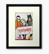 """""""they say that a hero can save us"""" Framed Print"""