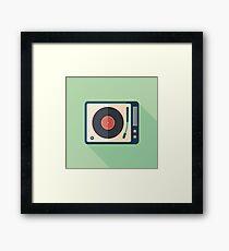Vinyl Player Framed Print