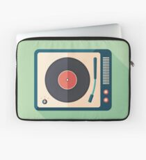 Vinyl Player Laptop Sleeve