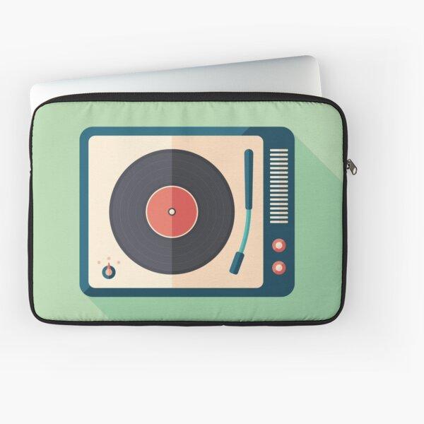 Vinyl Player Laptop Sleeve