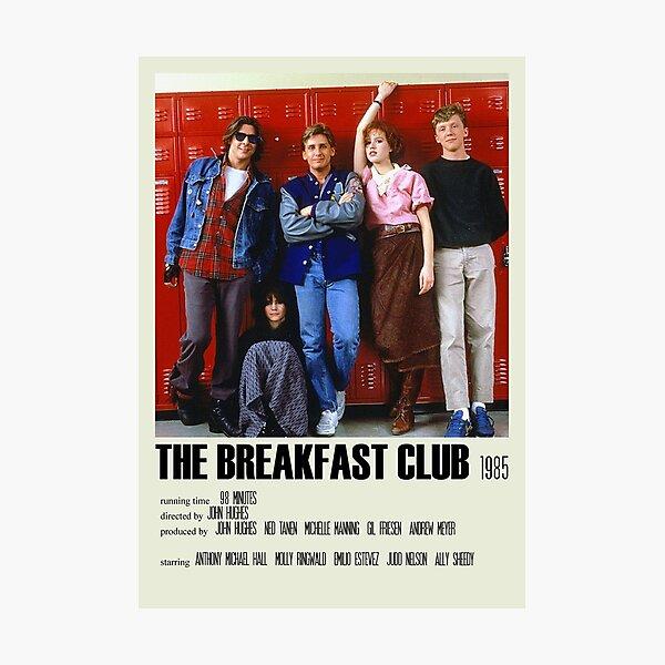 The Breakfast Club Alternative Poster Art Movie Large (2) Photographic Print