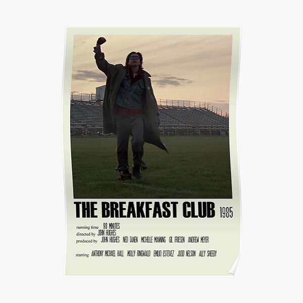 The Breakfast Club Alternative Poster Art Movie Large (1) Poster